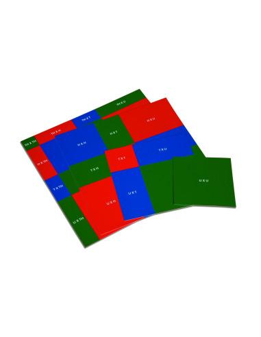 Nienhuis - Předlohy ke Kolíčkové tabulce k odmocňování