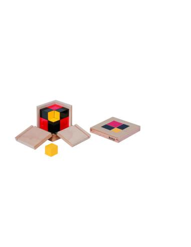 Nienhuis - Algebraická binomická krychle
