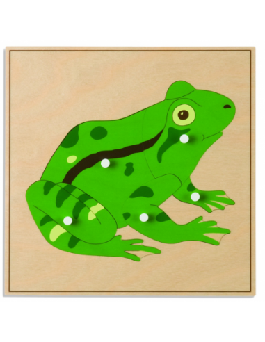 Nienhuis - Animal Puzzle: Frog