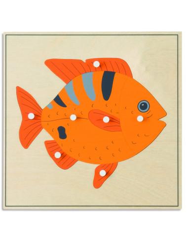 Nienhuis - Animal Puzzle: Fish
