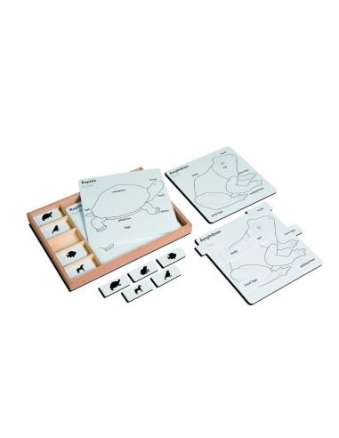 Nienhuis - Animal Puzzle Activity Set