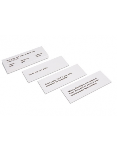 Nienhuis - Land And Water Forms: Command Cards 1