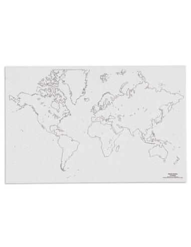 Nienhuis - Mapa světa