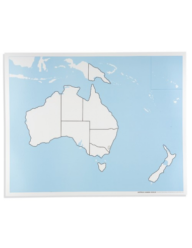 Nienhuis - Australia Control Map: Unlabelled