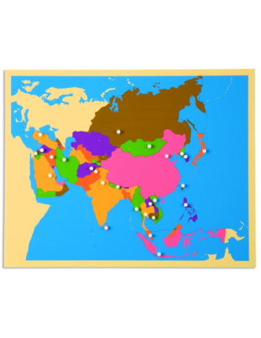 Nienhuis - Puzzle Map: Asia