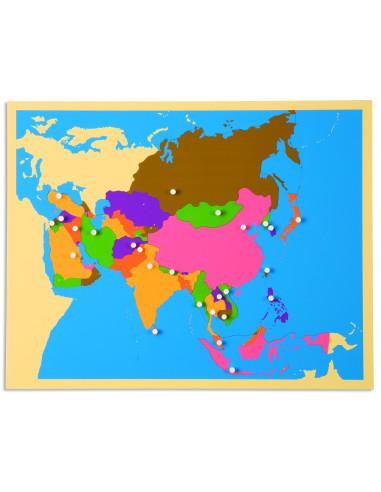 Nienhuis - Puzzle - mapa Asie