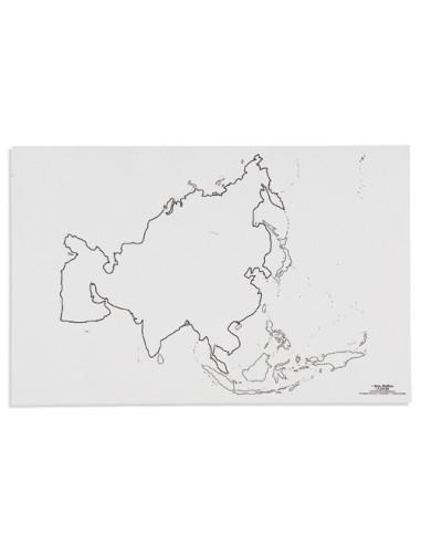 Nienhuis - Mapa Asie