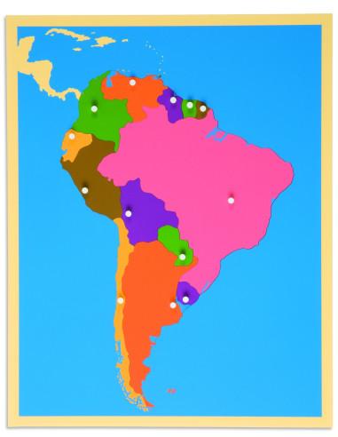 Nienhuis - Puzzle Map: South America