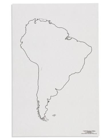 Nienhuis - Mapa Jižní Ameriky