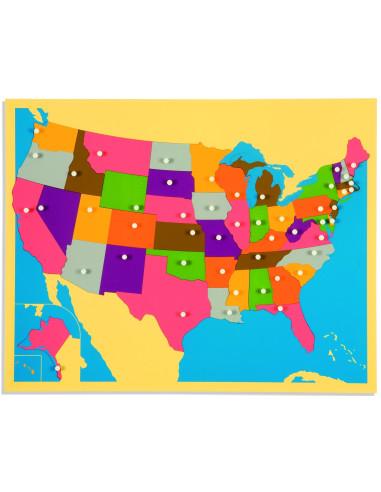 Nienhuis - Puzzle Map: The United States
