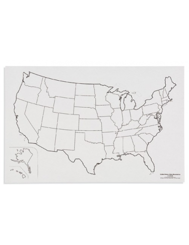 Nienhuis - United States: State Boundaries