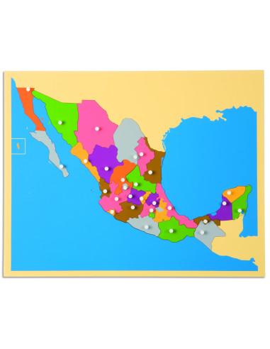 Nienhuis - Puzzle Map: Mexico