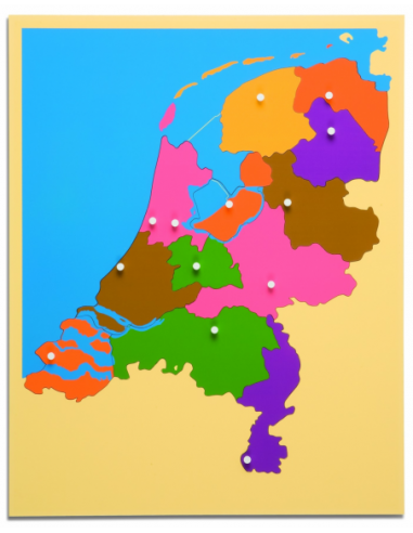 Nienhuis - Puzzle Map: The Netherlands