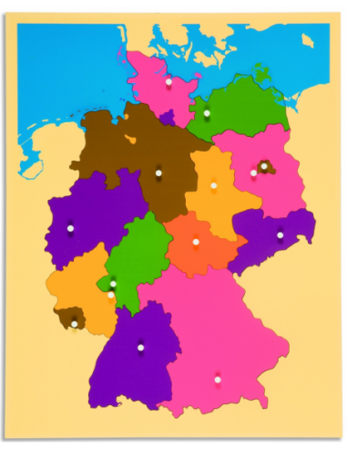 Nienhuis - Puzzle Map: Germany