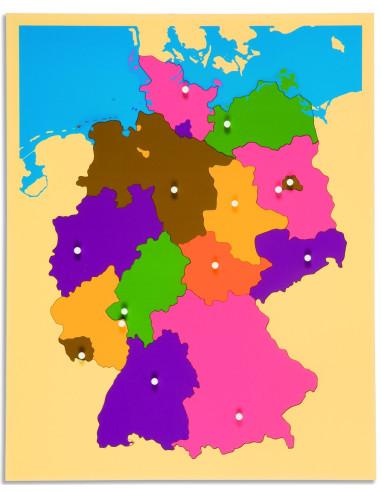 Nienhuis - Puzzle – mapa Německa