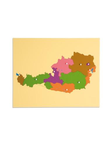 Nienhuis - Puzzle Map: Austria