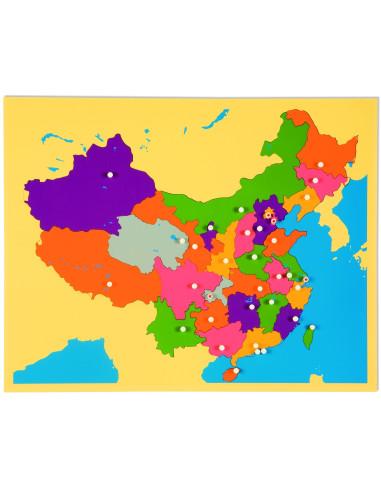 Nienhuis - Puzzle Map: China