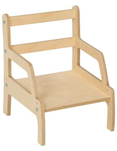 Nienhuis - Židle pro nejmenší - nastavitelná výška (13 a 16 cm)