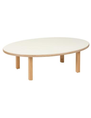 Nienhuis - Stůl pro nejmenší - ovál (100 x 62 x 31 cm)