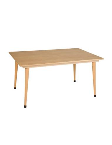 Nienhuis - Stůl pro skupinu žlutý (120 x 80 x 59 cm)