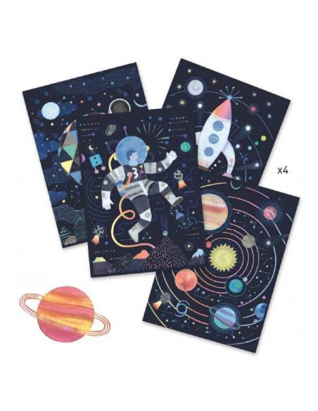 Scratch Boards - Cosmic Mission