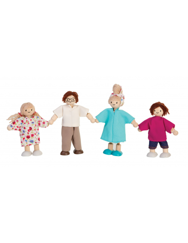 Moderní rodina - panenky