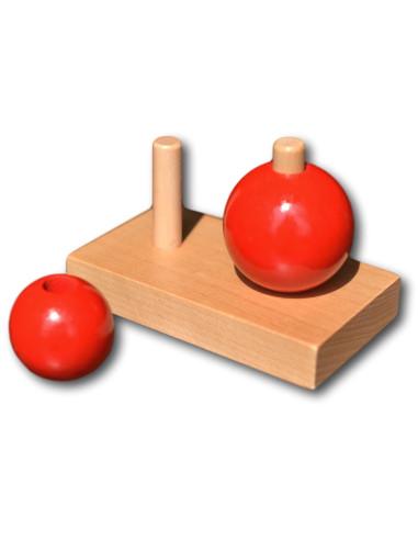Dvě červené koule