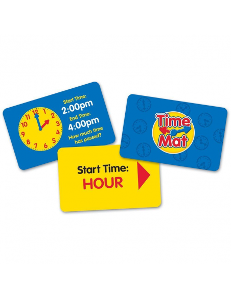 Výuka času - hra na podlahu