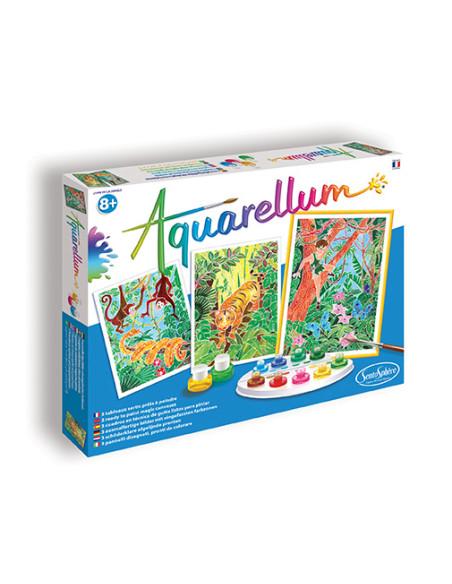 Watercolours - The Jungle Book