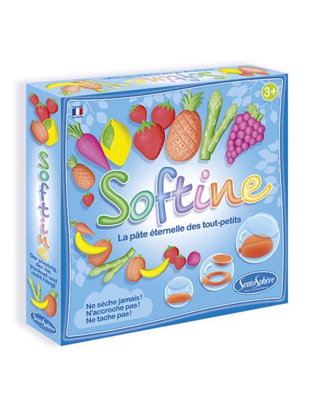 Softine: Modelovací hmota - Ovoce a zelenina