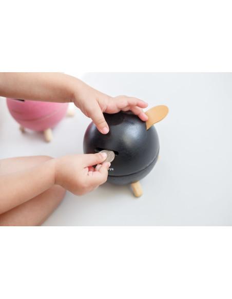 Piggy Bank - Black
