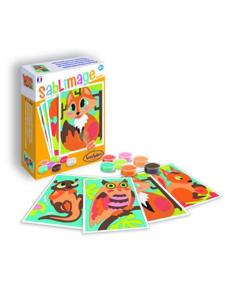 Sablimage mini: Pískové obrázky - Lesní zvířata