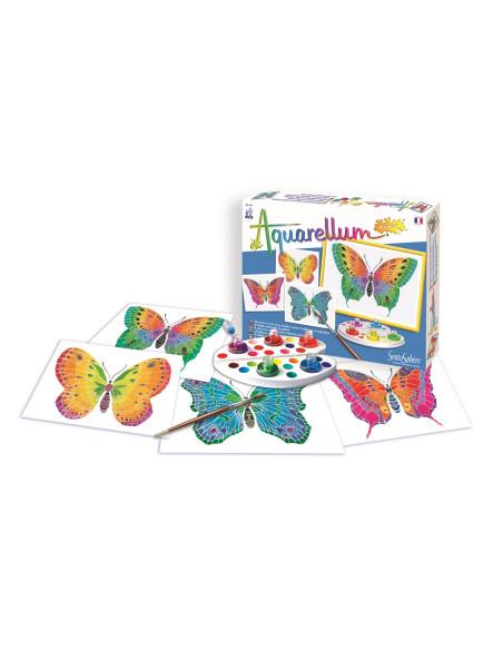 Watercolours Junior - Butterflies