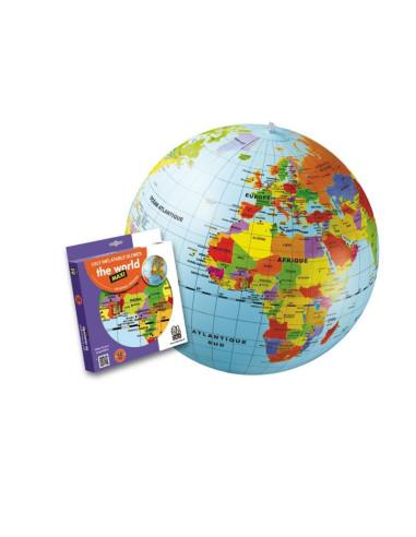 Nafukovací globus 50 cm - Zeměkoule