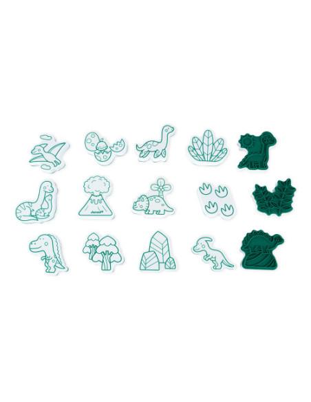 Razítka Dinosauři 15 ks