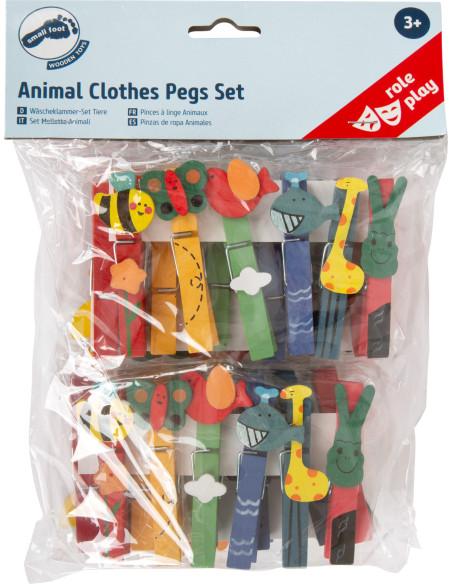 Kolíčky na prádlo - zvířátka