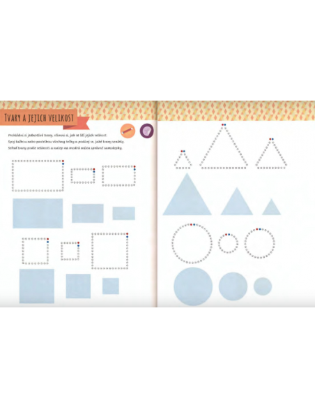 Moje první kniha plná tvarů