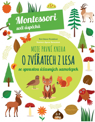 Moje první kniha o zvířatech z lesa