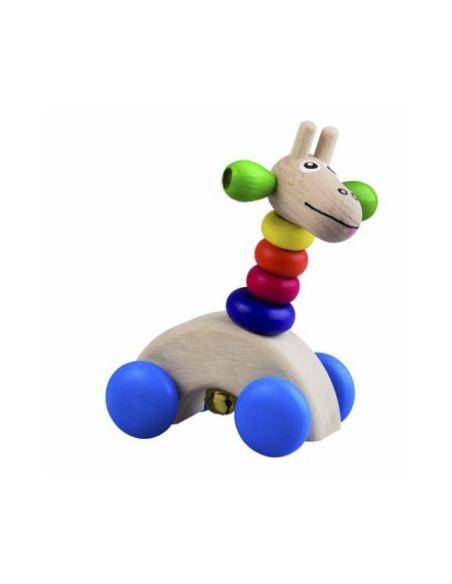 Giraffe On The Wheels
