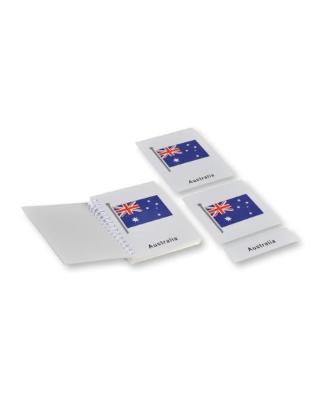 Australia Flags Nomenclature Cards