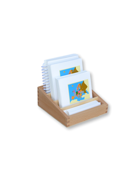 Vlajky Evropy - třísložkové karty