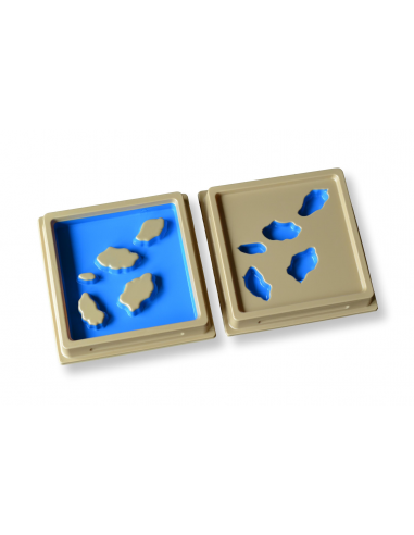 Land and Water Form Tray