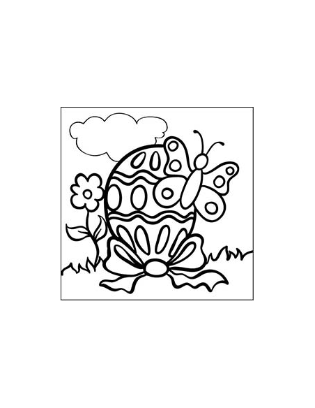 Sada mandaly - Jarní tvoření 10x10 cm