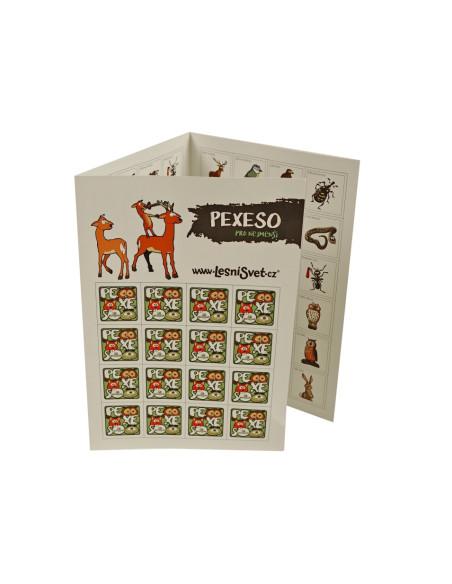 Papírové pexeso - Pro nejmenší