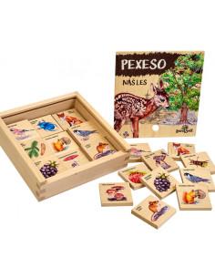 Pexeso klasické - Náš les