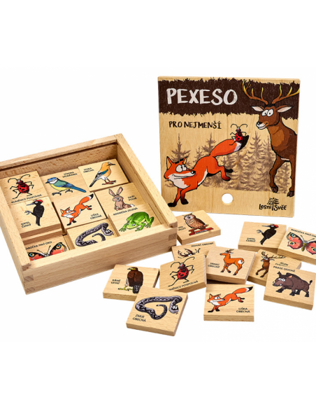 Pexeso klasické - Pro nejmenší