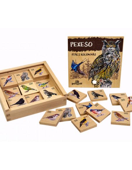 Pexeso klasické - Ptáci kolem nás