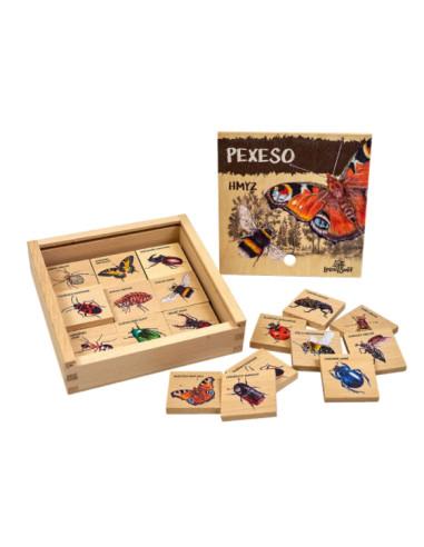 Pexeso klasické - Z říše hmyzu