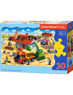 Puzzle - Stavba domu 30 dílků