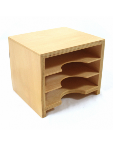 Geometric Form Cards Cabinet